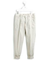 Pantalon beige Il Gufo