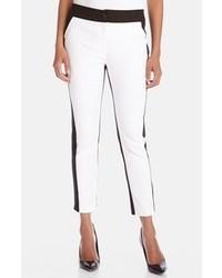 Pantalon blanc et noir