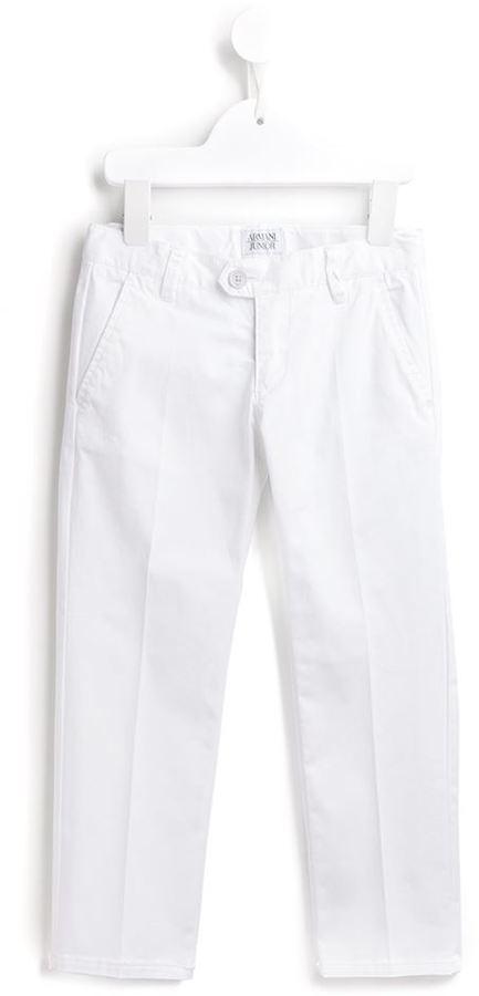 Pantalon blanc Armani Junior