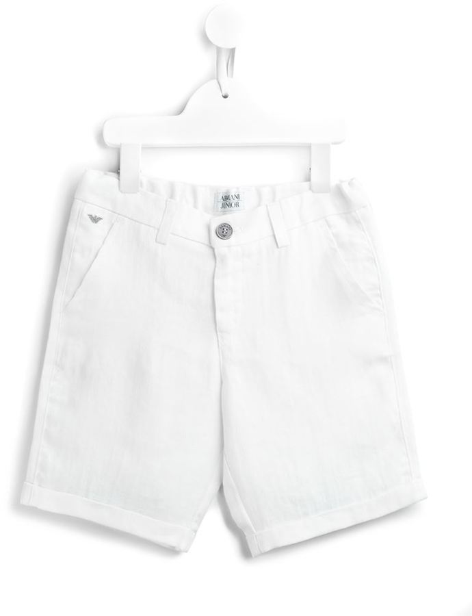 Pantalon blanc Armani Junior