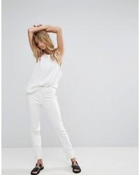 Pantalon blanc Mango
