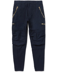 Pantalon bleu marine Balmain