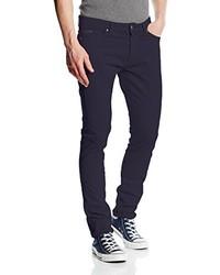 Pantalon bleu marine Calvin Klein