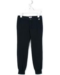 Pantalon bleu marine Il Gufo