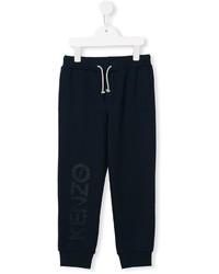 Pantalon bleu marine Kenzo