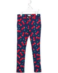 Pantalon bleu marine Little Marc Jacobs