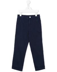 Pantalon bleu marine Stella McCartney
