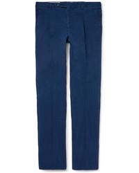 Pantalon bleu marine Tod's