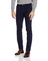 Pantalon bleu marine Versace