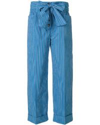 Pantalon bleu Tory Burch