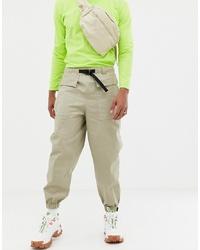 Pantalon cargo beige ASOS DESIGN