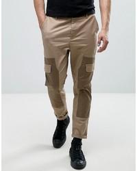 Pantalon cargo beige Asos