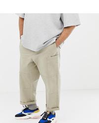 Pantalon cargo beige ASOS WHITE