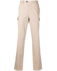 Pantalon cargo beige Brunello Cucinelli
