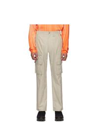 Pantalon cargo beige Heron Preston