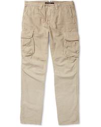 Pantalon cargo beige Incotex