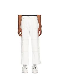 Pantalon cargo blanc Andersson Bell