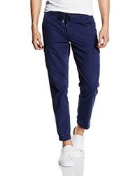 Pantalon cargo bleu marine Cortefiel