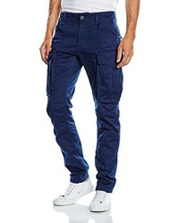 Pantalon cargo bleu marine G-Star RAW