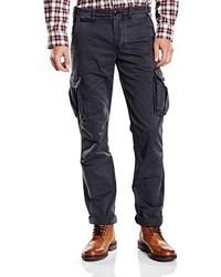 Pantalon cargo bleu marine Harrington