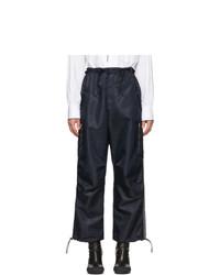 Pantalon cargo bleu marine Random Identities
