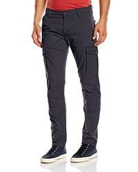 Pantalon cargo bleu marine Wrangler