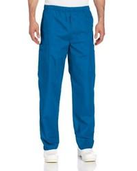 Pantalon cargo bleu