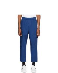 Pantalon cargo bleu Kenzo