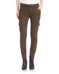 Pantalon cargo brun original 1515957