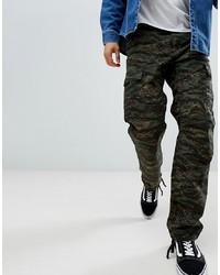 Pantalon cargo camouflage olive Carhartt WIP
