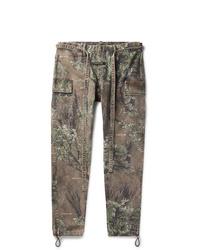 Pantalon cargo camouflage olive Fear Of God