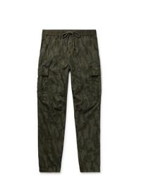 Pantalon cargo camouflage olive James Perse