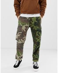 Pantalon cargo camouflage olive Levi's