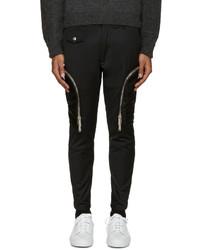 Pantalon cargo en laine noir DSQUARED2