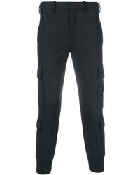 Pantalon cargo gris foncé Neil Barrett