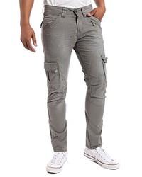 Pantalon cargo gris Timezone