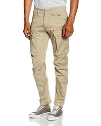 Pantalon cargo marron clair G-Star RAW