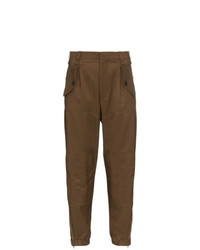 Pantalon cargo brun Chloé