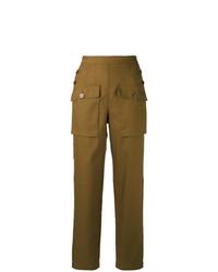 Pantalon cargo moutarde Chloé