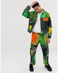Pantalon cargo multicolore Jaded London