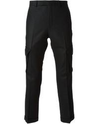 Pantalon cargo noir Kris Van Assche