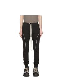 Pantalon cargo noir Rick Owens