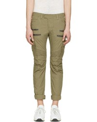 Pantalon cargo olive Balmain