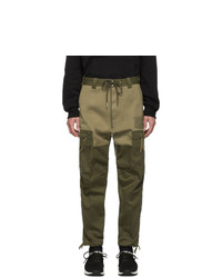 Pantalon cargo olive Diesel