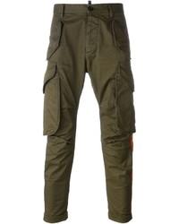 Pantalon cargo olive DSQUARED2