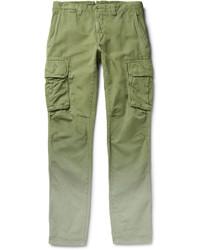 Pantalon cargo olive Incotex
