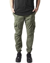 Pantalon cargo olive