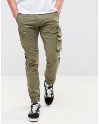 Pantalon cargo olive Replay