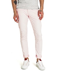 Pantalon cargo rose
