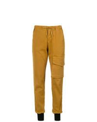Pantalon cargo tabac